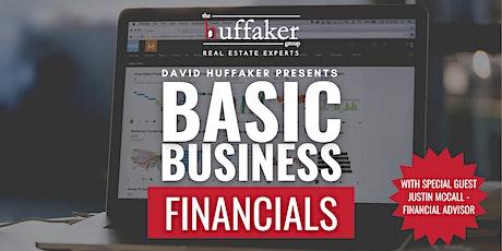 Basic Business Financials Live Event tickets