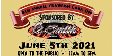 4th Annual St. Charles Parish First Responders Crawfish Cookoff tickets