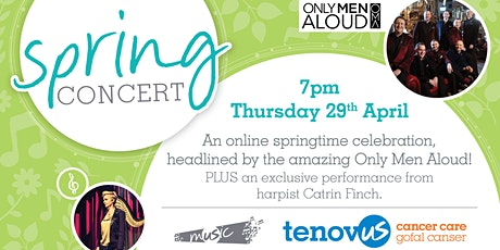 Musical Spring Concert - Only Men Aloud Tickets