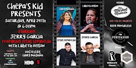 Chepa's Kid Presents Comedy Night at The Market Modesto tickets