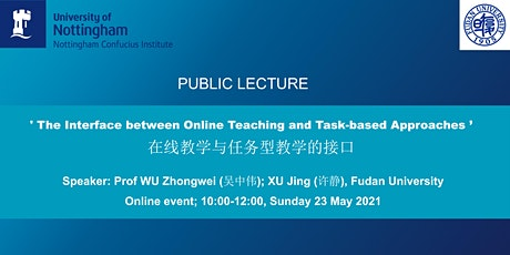 Lecture: The interface between online teaching and task-based approaches tickets