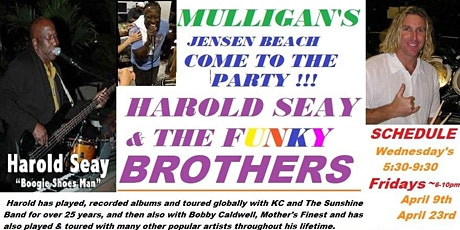 FREE ~ HAROLD SEAY & THE BROTHERS FUNKY BUNCH BAND - OUTDOOR EVENT ! tickets