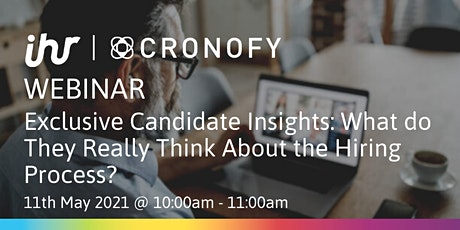 Candidate Insights: What do They Really Think About the Hiring Process? tickets