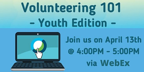 Online Roadshow: Volunteering 101 - Youth edition tickets
