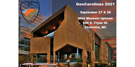GeoCarolinas 2021 Conference tickets