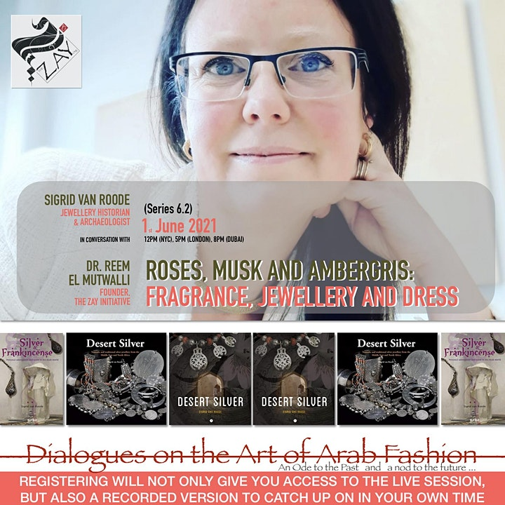 6.2 DIALOGUES ON THE ART OF ARAB FASHION: Roses, musk and ambergris image