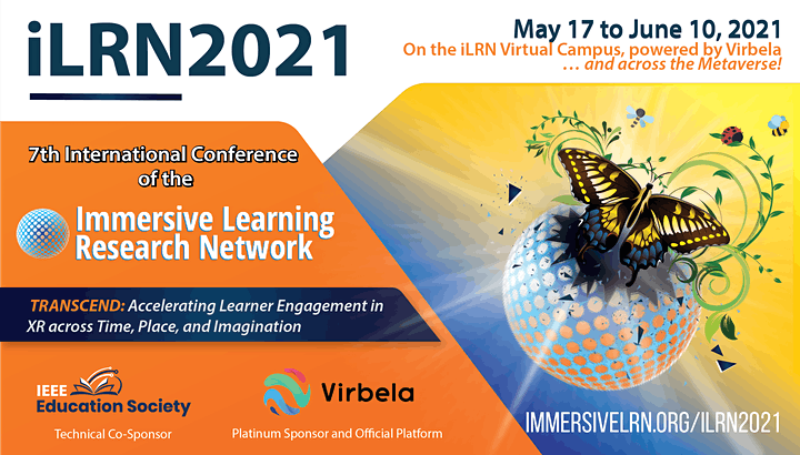 iLRN 2021:7th Annual Conference of the Immersive Learning Research Network image