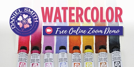 Free Daniel Smith Watercolor Zoom Demo - Portland (Southeast) tickets
