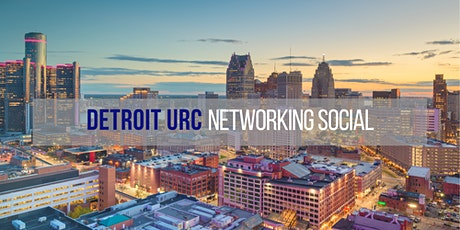 Detroit Urban Research Center Networking Social tickets