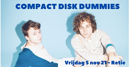 COMPACT DISK DUMMIES tickets