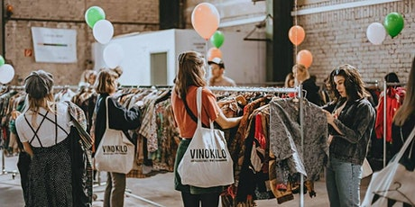 Spring Vintage Kilo Pop Up Store • Leipzig • Vinokilo billets