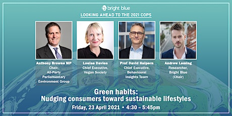 Green Habits: Nudging consumers toward sustainable lifestyles tickets