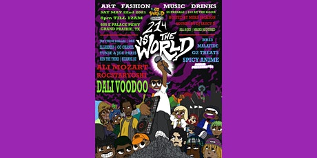 DJ SaucyD Presents: 214 Vs. The World tickets