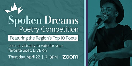 Spoken Dreams Poetry Competition tickets