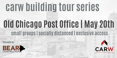 Old Chicago Post Office Tour Provided By Bear Construction tickets