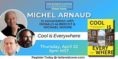 Live Stream with Michel Arnaud in conversation tickets