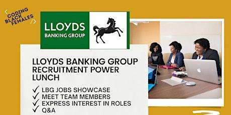Lloyds Banking Group Recruitment Power Lunch! bilhetes