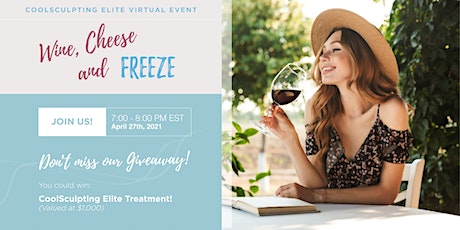 Wine, Cheese & Freeze tickets