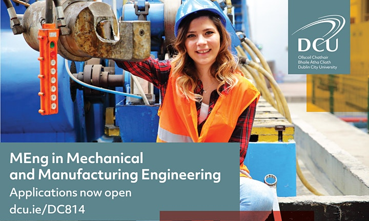 Webinar | MEng in Mechanical and Manufacturing Engineering at DCU image