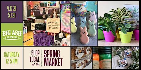 Spring Market @Big Ash Brewing! Shop Local! Shop Handmade! Shop Cincy! tickets