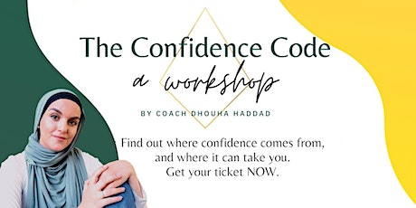 The Confidence Code Workshop 2.0 tickets