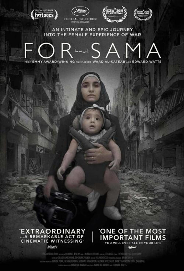 """""""For Sama"""" Documentary Screening and Panel Discussion image"""