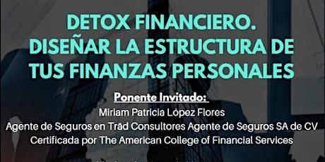 Detox financiero. Diseñar la estructura de tus finanzas personales boletos