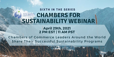 "6th ""Chambers for Sustainability"" Webinar tickets"