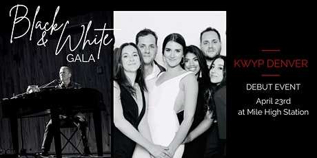 Zoom invitation to KWYP Denver Black and White Gala tickets