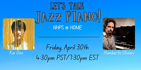 Let's talk about Jazz Piano! tickets