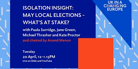May local elections: what's at stake? tickets