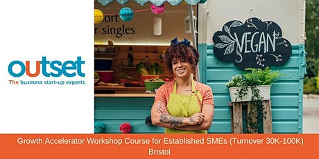 Growth Accelerator Workshop Course for Established SMEs (Turnover 30K-100K) tickets