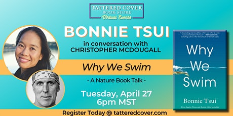 Live Stream with Bonnie Tsui in conversation with Christopher McDougall tickets