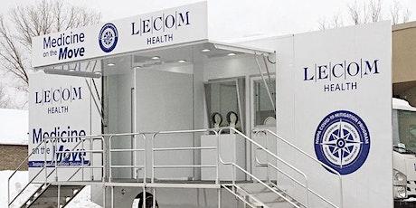 LECOM Health COVID-19 Vaccine Clinic Monday April 19, 2021 - 1st dose tickets