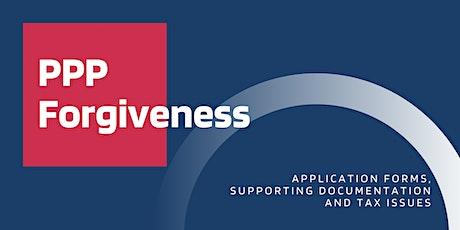 PPP Loan Forgiveness Process tickets