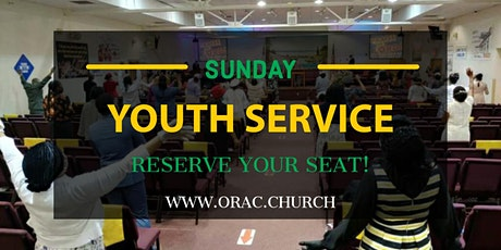 Youth Sunday Service - April 25th tickets