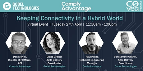 Keeping Connectivity in a Hybrid World  - Virtual Event tickets