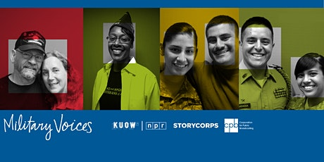 StoryCorps Military Voices  Virtual Listening Session tickets