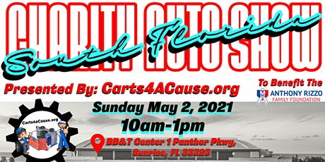 Carts 4 a Cause Charity Auto Show tickets