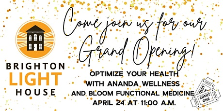 Optimize Your Health with Ananda Wellness and Bloom Functional Medicine tickets