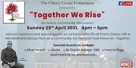 Together We Rise:   Remembering Cherry Groce tickets
