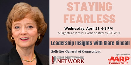 Staying Fearless with Clare Kindall, Solicitor General of CT tickets