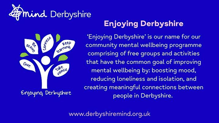 Wild Wellbeing in Derby City - An Enjoying Derbyshire Course image