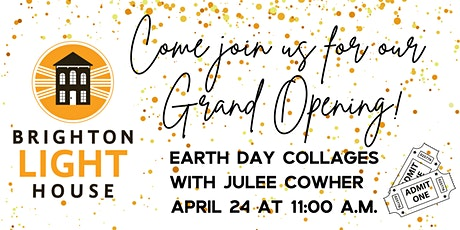 Earth Day Collages with Julee Cowher (ages 5-10) tickets