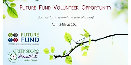 Spring Volunteer Opportunity: Tree Planting with Greensboro Beautiful tickets
