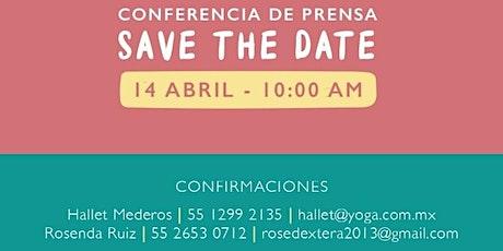 Conferencia de prensa - IMY presenta 8° Mother´ s Day Online entradas