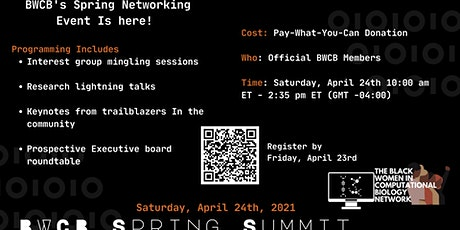 BWCB Spring Summit 2021 tickets