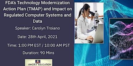 FDA's Technology Modernization Action Plan tickets