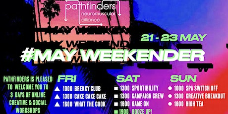 Pathfinders May  Weekender tickets