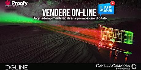 Vendere On-line [Webinar Live!] biglietti